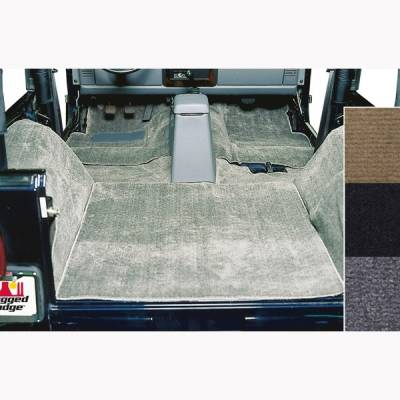 Rugged Ridge - Replacement Six-Piece Deluxe Carpet Kit 1976 - 2006 Jeep CJ/Wrangler - Image 2