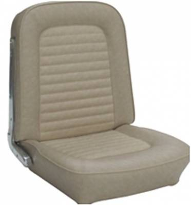 Ford Bronco - Seat Upholstery - TMI Products - 1966-1967 Ford Bronco, Front Only Vinyl Replacement Seat Upholstery