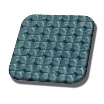 Med.. Turquoise Rosette