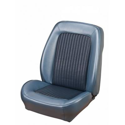 Ford Bronco - Seat Upholstery - TMI Products - 1968-1977 Ford Bronco, Front Bucket Seat Sport II Vinyl Replacement Seat Upholstery
