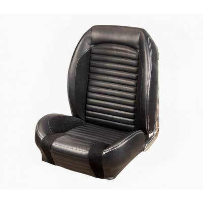 Ford Bronco - Seat Upholstery - TMI Products - 1966-1967 Ford Bronco, Front Buckets Sport R Seat Upholstery