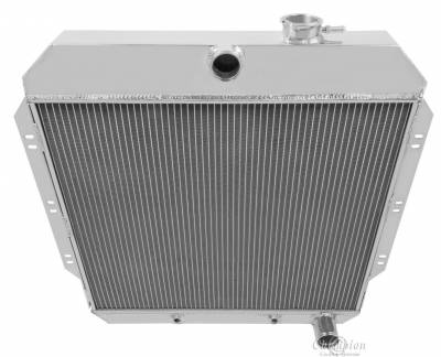 Radiators - Aluminum Radiators - Champion Cooling Systems - Champion Cooling Three Row All Aluminum Radiator 1960-1962 Chevy Truck CC6062