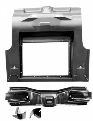 Mustang - Trunk Lids & Floors - Dynacorn - Replacement Trunk Floor for 1965-1970 Mustang Convertible