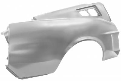 Mustang - Quarter Panels - Dynacorn - Right Hand or Left Hand Rear Quarter Panel for 1968 Mustang Fastback