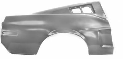 Mustang - Quarter Panels - Dynacorn - Right Hand or Left Hand Rear Quarter Panel for 1968 Mustang Fastback - Early Marker