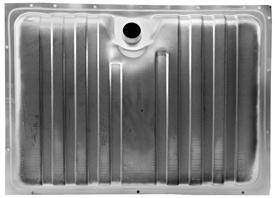 Fuel System - Dynacorn - Galvanized Gas Tank for 1969 Cougar, Mustang