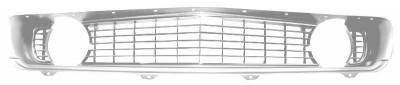 Grilles and Inserts - Camaro Grilles - Dynacorn - Replacement Grill for 1969 Camaro - Standard Silver