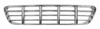 Grilles and Inserts - Chevy/GMC Truck Grilles - Dynacorn - Chrome Grille for 1955 - 1956 Chevy Pick Up Truck