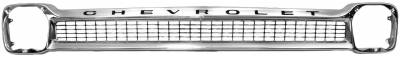 Grilles and Inserts - Chevy/GMC Truck Grilles - Dynacorn - Chrome Grille for 1964 - 1966 Chevy Pick Up Truck