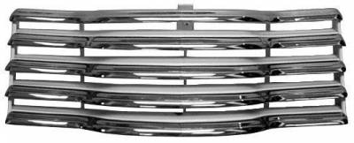 Grilles and Inserts - Chevy/GMC Truck Grilles - Dynacorn - Chrome Grille for 1947 - 1953 Chevy Pick Up Truck