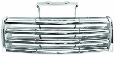 Grilles and Inserts - Chevy/GMC Truck Grilles - Dynacorn - Chrome Grille for 1947 - 1954 GMC Pick Up Truck