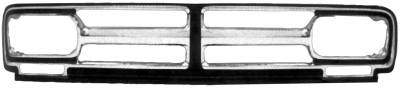 Dynacorn - Chrome Grille for 1968 - 1970 GMC Pick Up Truck