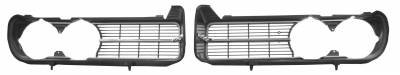 Grilles and Inserts - Firebird Grilles - Dynacorn - Grille for 1968 Firebird 400 - Black