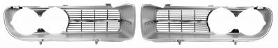 Grilles and Inserts - Firebird Grilles - Dynacorn - Grille for 1968 Firebird 400 - Chrome