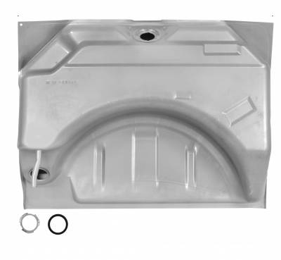 Fuel System - Dynacorn - Gas Tank for 1966 - 1967 Dodge Charger, Coronet