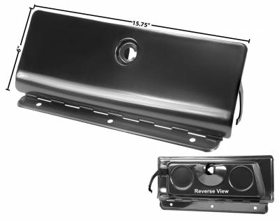 Interior Accessories - Dynacorn - Glove Box Door for 1969 Camaro