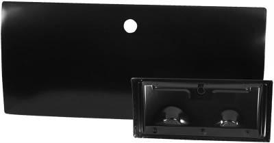 Interior Accessories - Glove Boxes & Glove Box Doors - Dynacorn - Glove Box Door for 1967 - 1968 Mustang