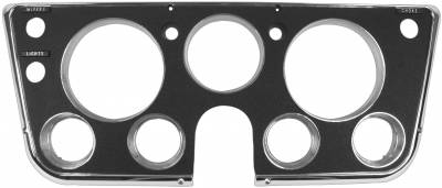 Interior Accessories - Dash Panels & Bezels - Dynacorn - Dash Bezel for 1967 - 1968 Chevy/GMC CK Series Truck, Black