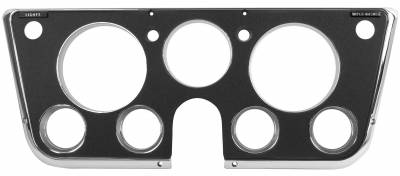 Dynacorn - Dash Bezel for 1969 - 1972 Chevy/GMC CK Series Truck, Black