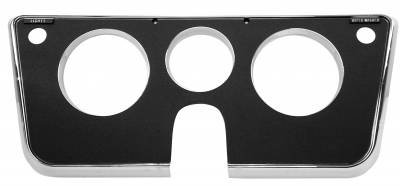 Interior Accessories - Dynacorn - Dash Bezel for 1969 - 1972 Chevy/GMC CK Series Truck, Black 3-Hole