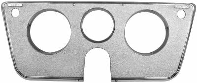 Dynacorn - Dash Bezel for 1969 - 1972 Chevy/GMC CK Series Truck, Chrome 3-Hole