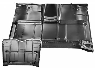 Dynacorn - 1967 - 72 Chevy Pick Up Complete Cab Floor Panel with Brace