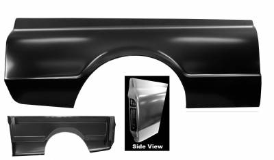 "Chevy & GMC Trucks - Bed Parts - Dynacorn - 1967 Chevy ""Fleetside"" Truck Bedside Panel 6' Bed- Right or Left Side"