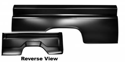 "Chevy & GMC Trucks - Bed Parts - Dynacorn - 1960 - 1966 Bedside ""Fleetside"" Short Bed, Right or Left Side"