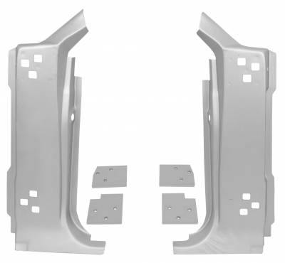 Mustang - Doors & Door Assemblies - Dynacorn - A Pillar Kit for 1967 - 1968 Mustang
