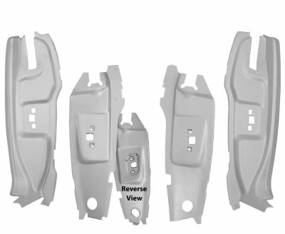 Mustang - Doors & Door Assemblies - Dynacorn - B Pillar Kit for 1965 - 1966 Mustang