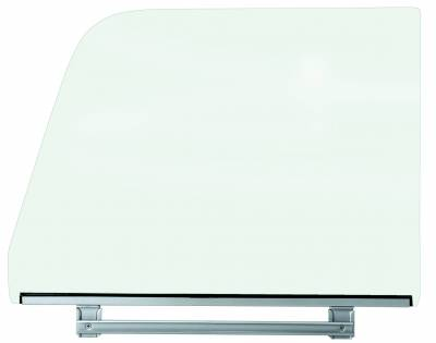 Window Glass - Chevy Pick Up Window Glass - Dynacorn - Door Glass Assembly for 1964 - 1966 Chevy Truck