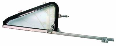 Window Glass - Chevy Pick Up Window Glass - Dynacorn - Vent Window Assembly for 1964 - 1966 Chevy Truck