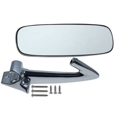 Interior Accessories - Rear View Mirrors - Dynacorn - Standard Replacement Mirror Kit for 1965-66 Mustang