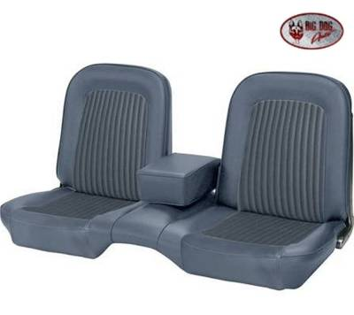 TMI Products - Standard Upholstery for 1968 Mustang Coupe, Convertible, 2+2 w/Bench Seat (Front Only) - Image 2