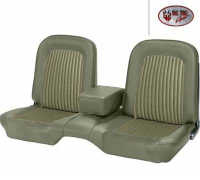 TMI Products - Standard Upholstery for 1968 Mustang Coupe, Convertible, 2+2 w/Bench Seat (Front Only) - Image 4