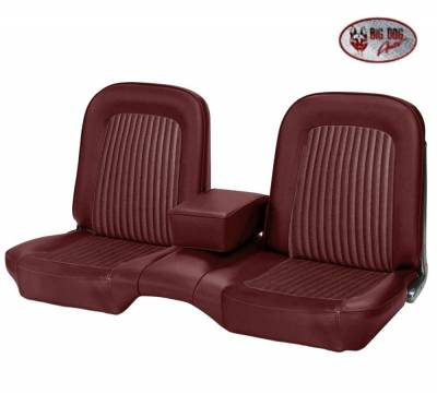 TMI Products - Standard Upholstery for 1968 Mustang Coupe, Convertible, 2+2 w/Bench Seat (Front Only) - Image 7