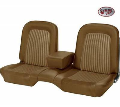 TMI Products - Standard Upholstery for 1968 Mustang Coupe, Convertible, 2+2 w/Bench Seat (Front Only) - Image 8
