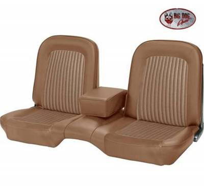 TMI Products - Standard Upholstery for 1968 Mustang Convertible w/Bench Seat (Front & Rear) - Image 6
