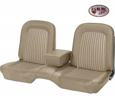 TMI Products - Standard Upholstery for 1968 Mustang Convertible w/Bench Seat (Front & Rear) - Image 5