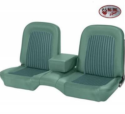 TMI Products - Standard Upholstery for 1968 Mustang Convertible w/Bench Seat (Front & Rear) - Image 3