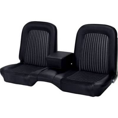 Mustang - Seat Upholstery - TMI Products - Standard Upholstery for 1968 Mustang Convertible w/Bench Seat (Front & Rear)