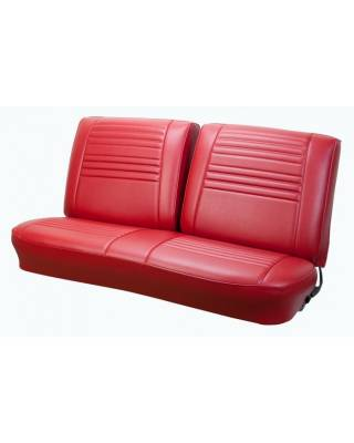 TMI Products - 1967 Chevelle Convertible Front and Rear Bench Seat Upholstery - Image 2