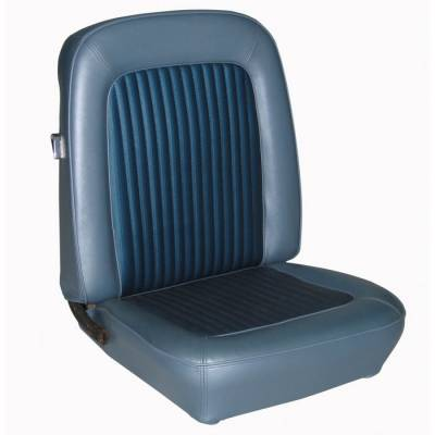 TMI Products - 1968-1977 Ford Bronco, Front and Rear Vinyl Replacement Seat Upholstery