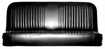 Trucks - Chevy Truck Upholstery - PUI - 1971 - 1972 Chevy Truck Standard Bench Seat Upholstery