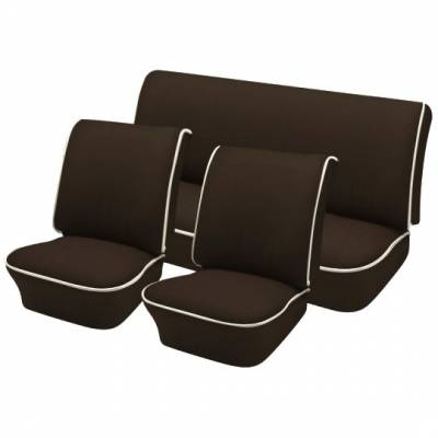 TMI Products - 1965-67 VW Volkswagen Bug Beetle Sedan OEM Classic Style Seat Upholstery, Front and Rear