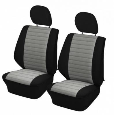 TMI Products - 1977-1978 VW Volkswagen Bug Beetle Sedan Original Style w/Insert Seat Upholstery, Front and Rear - Any Color Combo - Image 1