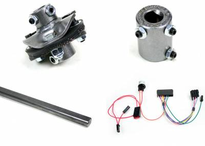 Nova/Chevy II Retrofit Columns - Installation Kits - Ididit - Installation Kit - 62 Nova/60-62 GM Truck-C/S/R/W - 3/4-30