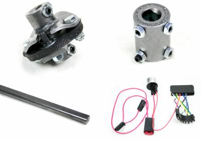 Ididit - Installation Kit - 66 Chevelle Front Steer C/S/R/W - 3/4-36
