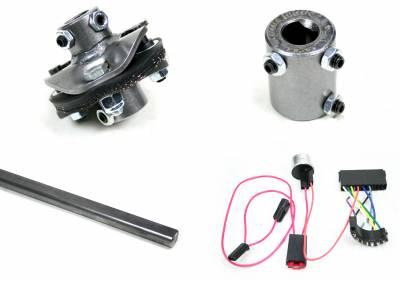 Chevelle Retrofit Columns - Installation Kits - Ididit - Installation Kit - 66 Chevelle Front Steer C/S/R - 13/16-36