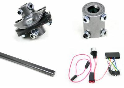 Chevelle Retrofit Columns - Installation Kits - Ididit - Installation Kit - 66 Chevelle Front Steer C/S/R/W -13/16-36